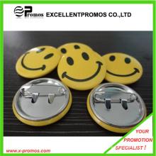 Cheap atacado Customzied logotipo impresso Tin Badge (EP-B9072)