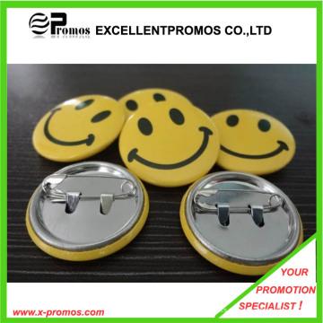 Billig Großhandel Customzied Logo gedruckt Tin Badge (EP-B9072)