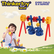 Bricolage Toy Building Block Puzzles Toy pour 3-6 enfants