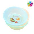 Lavabo de lavado de diseño de frutas redondas de plástico (SLP001)