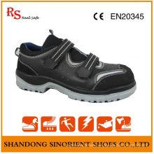 RS Wirkliche sichere Marke keine Spitze-Sicherheitsschuhe, Veloursleder-Sommer-Sommer-Schuhe RS015