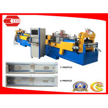 Light Frame Steel Building C-U Purline Forming Machine with Software
