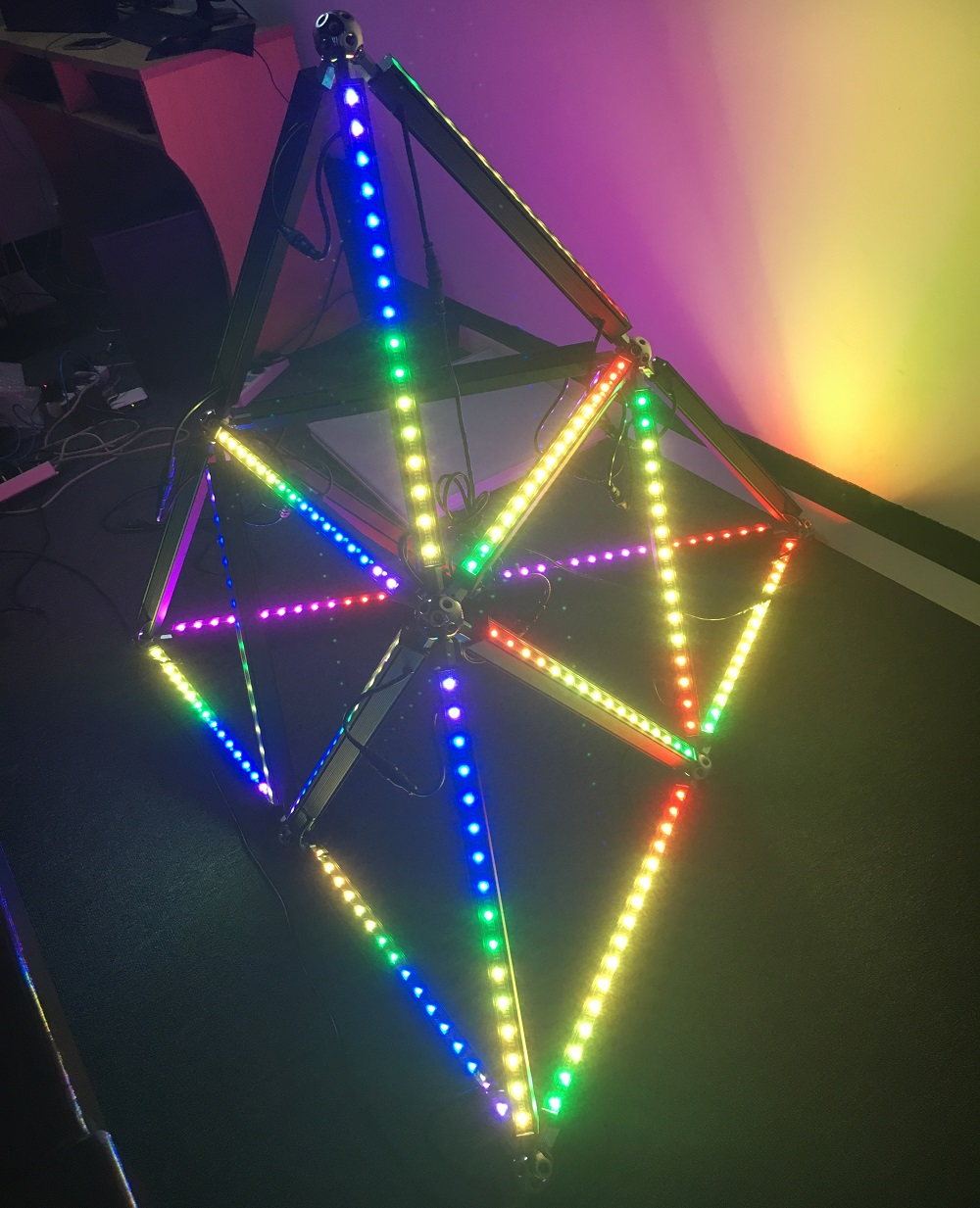 DMX512 Pixel Control Digital LED RGB Bar Light
