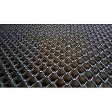 clôture de maille de maillon de chaîne utilisée galvanisée