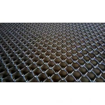 galvanized used chain link mesh fence
