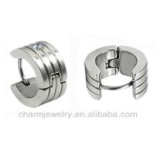 Boucle d'oreille en acier inoxydable 316L en acier inoxydable et boucle d'oreille HOPAO HE-010