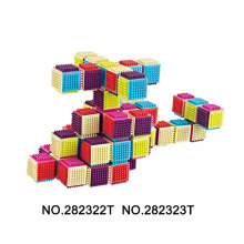Solid Build Toy Preschool Educational Game 40 PCS
