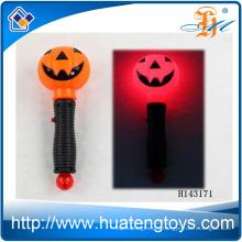 2014 Hot sale Flashing Pumpkin toys with music Halloween Light stick Toys