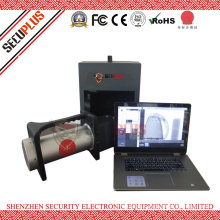 Small portable X ray scanner machine to check seafood, shrimp, fish