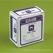 Série Pab (boîte à papier) Clips de câble
