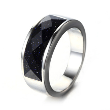 Grosir Perhiasan Hitam Titanium Cincin Engagement Men Ring
