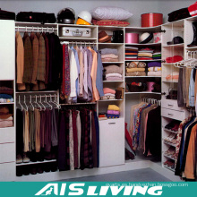 Paseo de laca blanca en armario de armarios (AIS-W358)