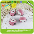 Pencil Topper suddgummin Owl Formad Eraser Cap