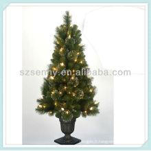 2013 arbre de Noël pré-éclairé
