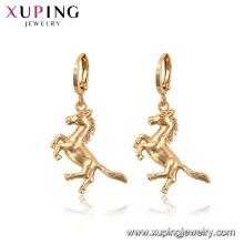 96948 Xuping Mode Tier Pferd Drop keine Stein Ohrringe für Frauen