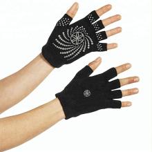 Hochwertige Baumwolle PVC Anti-Rutsch YOGA Handschuhe