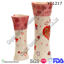 Festival Dekorative Keramik Vase für Großhandel