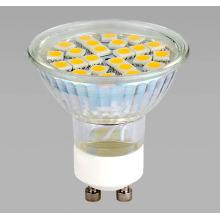 Projecteur LED 5050SMD GU10 24PC