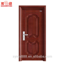 Lámina de metal para puertas interiores de acero Lámina de láminas sólidas para diseño asiático del sur