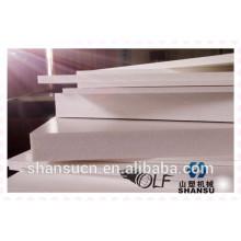 Weißes PVC druckbares Schaumbrett für das Zeichen, PVC-Schaumbrett annoncierend, flexibles PVC-Blatt, Druckschaumbrett