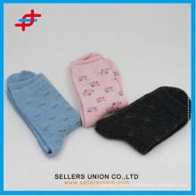 2015 Hot OEM lady handmade high quality angora wool thick socks