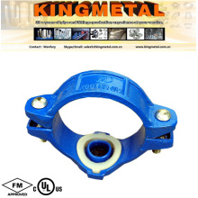 (Red, Orange, Galvanized, Blue) Grooved Fitting and Coupling Mechanical Tee