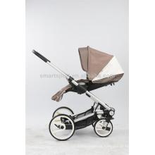 Carrinho de bebê dobrável 3-em-1