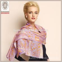 2015 new 100% wool scarves shawls Wholesale ladies winter shawl