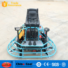 Driving type concrete floor troweling machine