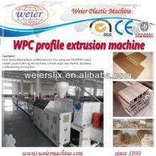 WPC revestimento linha/WPC piso painel a máquina