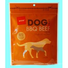 Plastic Zipper Pet Food Packaging Bag