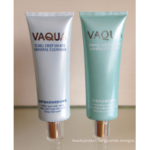 Small Acrylic Cover with PE Tube for Cleanser Cream