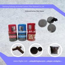activated carbon bottle cap filter