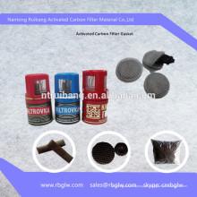 filtro de tampa de garrafa de carvão ativado