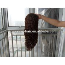 Новые бразильские волосы полный парик гонки