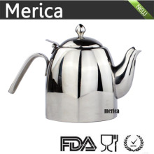 Stainless Steel Teapot with Special Design