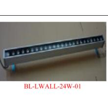 1X24W 1 Mètre long en aluminium alliage LED Wall Washer