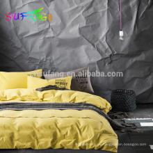 Juego de cama king size 100% bambú / ropa de cama de tamaño King, juego de cama de bambú