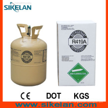 Nicht bewölkt, farbloses flüssiges R419A Kältemittelgas