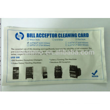 Banknote Counters cleaning card,bill counter,hot sale