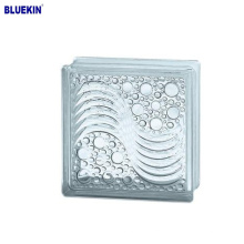 low price 190*190*80mm brick glass block with different size