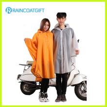 Eco-Friendly Reusable EVA Unisex Rain Poncho Motorcycle Raincoat Rvc-084