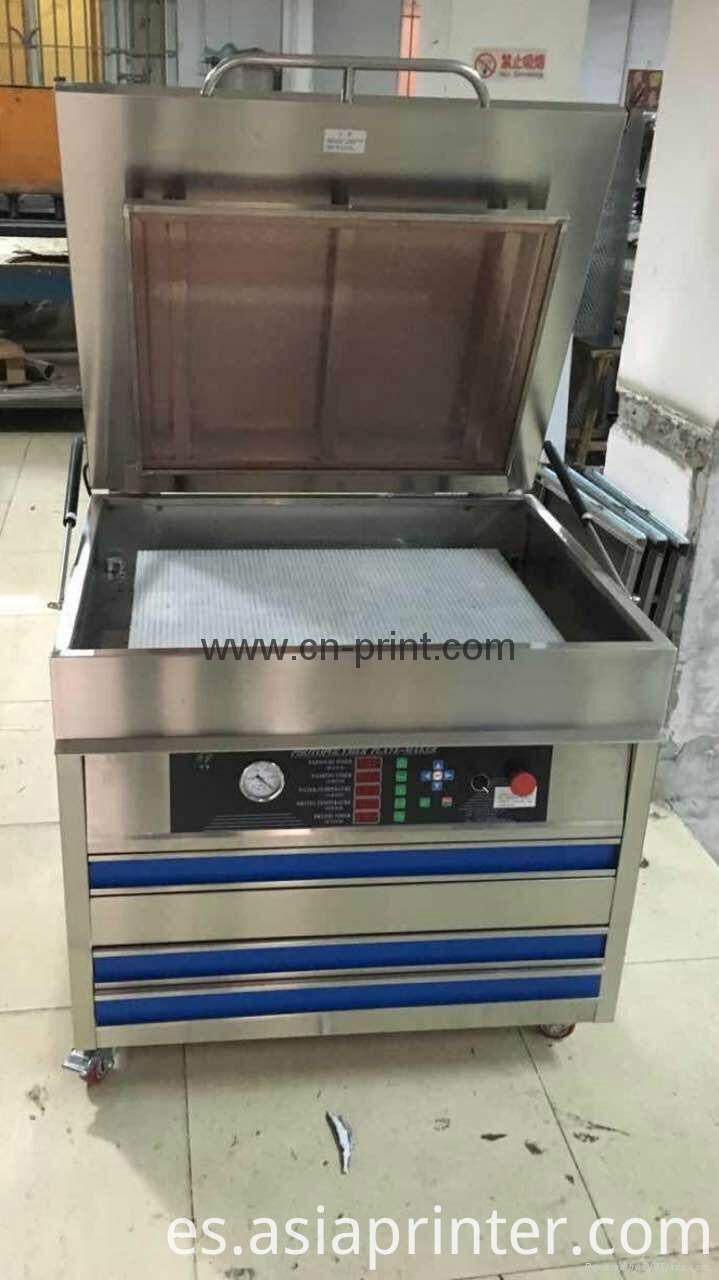 washing printing plate making machine