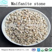 Purificación de piedra médica del precio competitivo, fabricante médico de los medios de filtro de piedra, piedra de la maifanita para el tratamiento de aguas