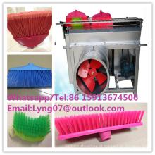 máquina manual do aparamento da vassoura / escova que desgasta a máquina da vassoura