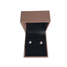 Luxury Brown Pearlized Paper Jewelry Box Set