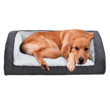 Low Price Plush Pet Beds Accessories  Cushion Memory Foam  Plush Orthopedic Pet Dog Sofa