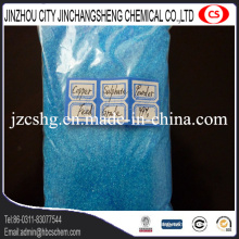 Cristal de sulfate de cuivre pour l'additif alimentaire