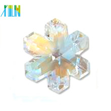 wholesale high quality snowflake crystal pendant for necklaces