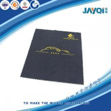 Microfiber Silver Logo Cleaning Cloth